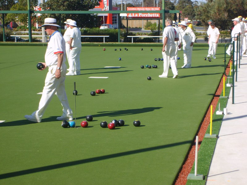 Lawn Bowls Abs Sports Field